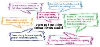 supporting student survivors sexual harassment prevention
