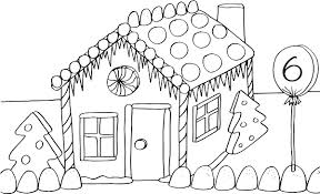 gingerbread house coloring pages shishita world com