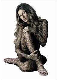 35 weird full body tattoo designs
