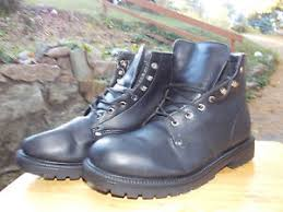 black leather s boots size 12 by original rugged outback
