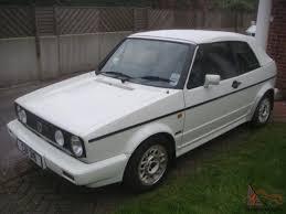 white volkswagen golf 1989 volkswagen golf 1 8 gti cabriolet convertible cab white