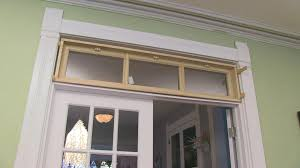 How To Frame A Door Opening Diy Building A Transom Window Youtube