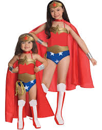 matching women halloween costumes justice league dc comics wonder woman child halloween costume