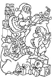 kids fun 48 coloring pages christmas disney