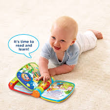 amazon com vtech musical rhymes book frustration free packaging