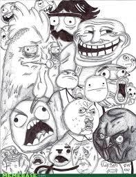 draw all the memes memebase funny memes