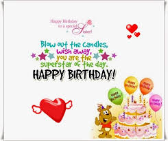 Happy Birthday Wishes For A Cousin Happy Birthday Cousin Sister Wishes Poems And Quotes Happy