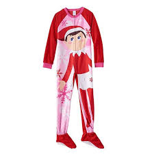 girls halloween pajamas amazon com the elf on the shelf footed pajamas girls 4 10 4