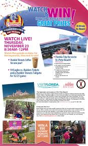 2017 6abc dunkin donuts thanksgiving day parade