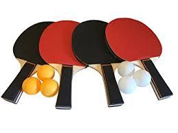 Amazon Ping Pong Table Amazon Com Gameroomgo Ping Pong Paddle Set Table Tennis Set