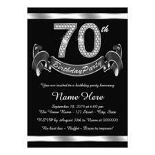 70th birthday invitations u0026 announcements zazzle