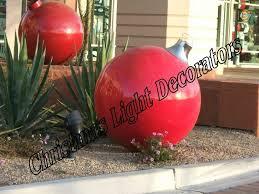outdoor decorations large ornaments fiber optic