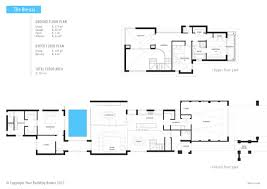 your building broker the brescia narrow lot home design narrow