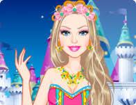 barbie fashion fairytale dress games