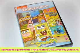 coupon savvy sarah spongebob squarepants triple feature dvd