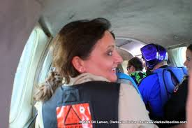 Daughter Nervous Adventure Skydiving A True Adventure For First Time Mom And