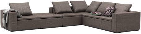 Corner Sofa Corner Sofa Modular Contemporary Fabric Mezzo Boconcept
