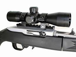 ruger 10 22 light mount amazon com 4x32 mil dot compact rifle scope ruger 1022 10 22 10