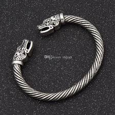 mens silver bangle bracelet images Wholesale jewelry europe and the united states pirate langtou jpg
