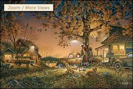 terry redlin conservation edition canvas series