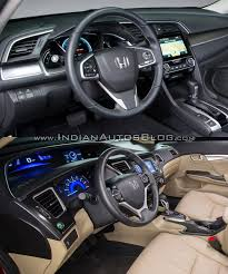 old bentley interior 2016 honda civic vs 2015 honda civic old vs new