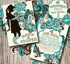 baby shower invitations western baby shower invitations free