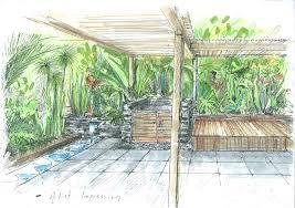 download landscape design sketch garden design