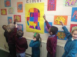 Elmer The Patchwork Elephant Story - elmer the patchwork elephant in niamh s class st columba s