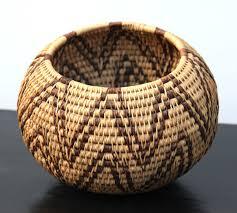 cherryrevolver antique indian hand woven coiled basket