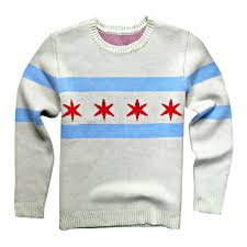 Chicaho Flag Chicago Flag Sweater U2013 Chitown Clothing