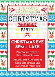 embarrassing christmas jumper party u2014 the pug u0026 greyhound
