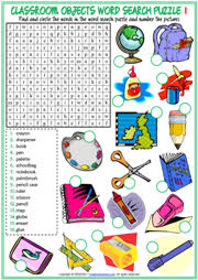 word search nationalities printable classroom objects esl printable worksheets and exercises