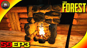 the forest gameplay built a fireplace s9ep3 alpha v0 27
