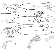 best pond coloring photos printable coloring pages