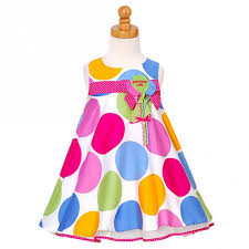 1st birthday girl bonnie jean baby pastel dot balloon birthday dress 12