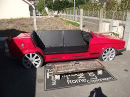 canapé voiture mistick recyclage déco et mobilier sièges en jantes cadres