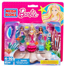 amazon mega bloks barbie mermaid party toys u0026 games