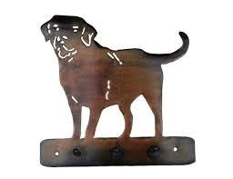 dog home decor smw402 metal labrador lab dog leash holder hanger sunriver metal