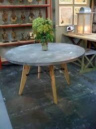 Zinc Top Bistro Table 56 Best Zinc Table Tops Images On Pinterest Zinc Table Dining