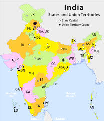 50 States And Capitals Map by List Of Rto Districts In India Wikipedia