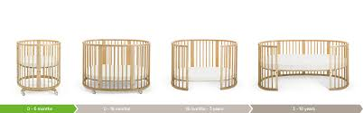 bedroom wonderful round cribs for nursery furniture ideas