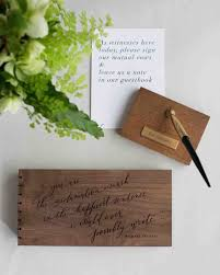 guestbooks for weddings 46 guest books from real weddings martha stewart weddings