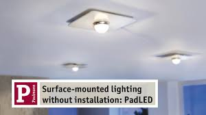 Wireless Light Fixtures by Padled The Led Lighting System With A Wireless Look Youtube