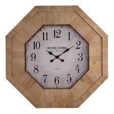 Wall Watch by Grand Hotel Wall Clock Oak Furniture Land