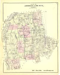 Maps Com Vermont County Map