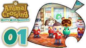 animal crossing happy home designer part 1 english gameplay