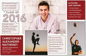 graduation photo announcements high school graduation invitations 2016 gangcraft net