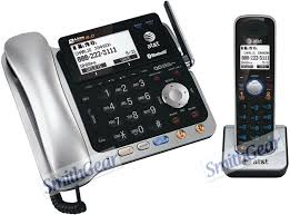 att tl86109 2 line cordless phone wireless headset