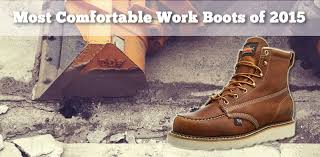 Comfortable Brown Boots What Are The Most Comfortable Work Boots Of 2015 These Are