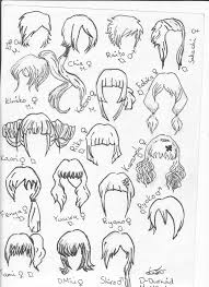 sketches of hair hair sketches 2 by bronitronas on deviantart